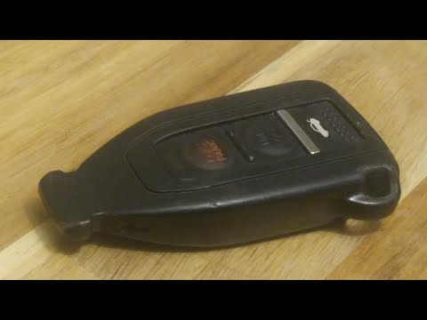 Lexus LS430 Key Fob Battery Replacement – EASY DIY