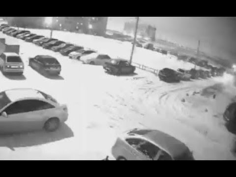 More Footage Of The Meteor Over Russian Urals. March 6, 2018
