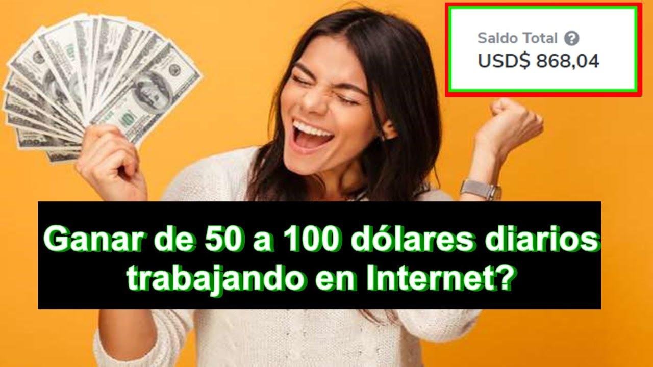 Ganar dinero $ 50 a $ 100 por día en Internet Siendo Adolescente