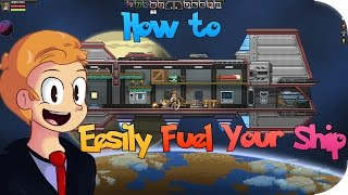 How to Easily Fuel Your Ship in Starbound