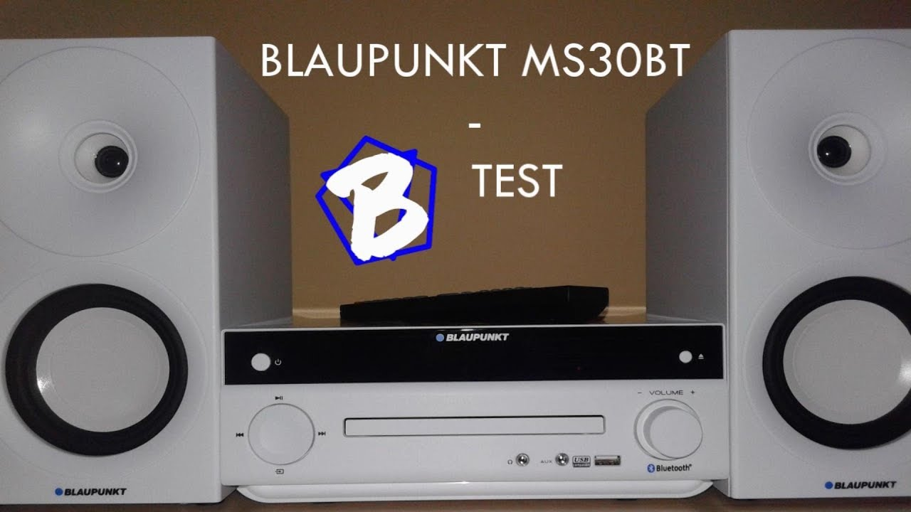 Blaupunkt ms30bt test youtube blaupunkt ms30bt test sciox Choice Image