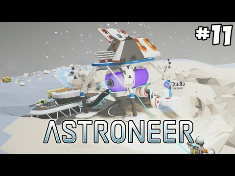 The Beginning of the Moonbase - Astroneer Gameplay - Part 11