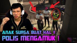POLIS MENGAMUK GARA GARA AUL! BIKIN HAL INI BUDAK!!!