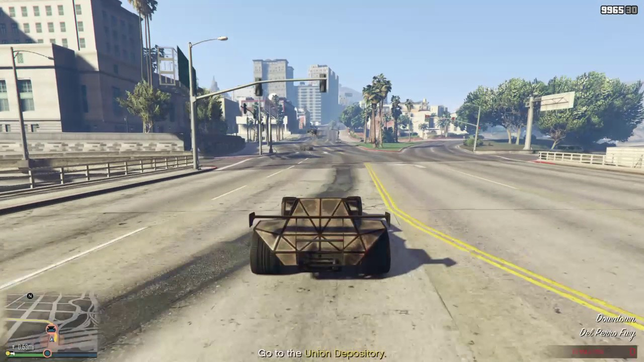 GTA 5 DLC Special Vehicle Mission (BF Ramp Buggy)