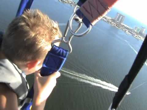 Parasailing On Pensacola Beach Florida