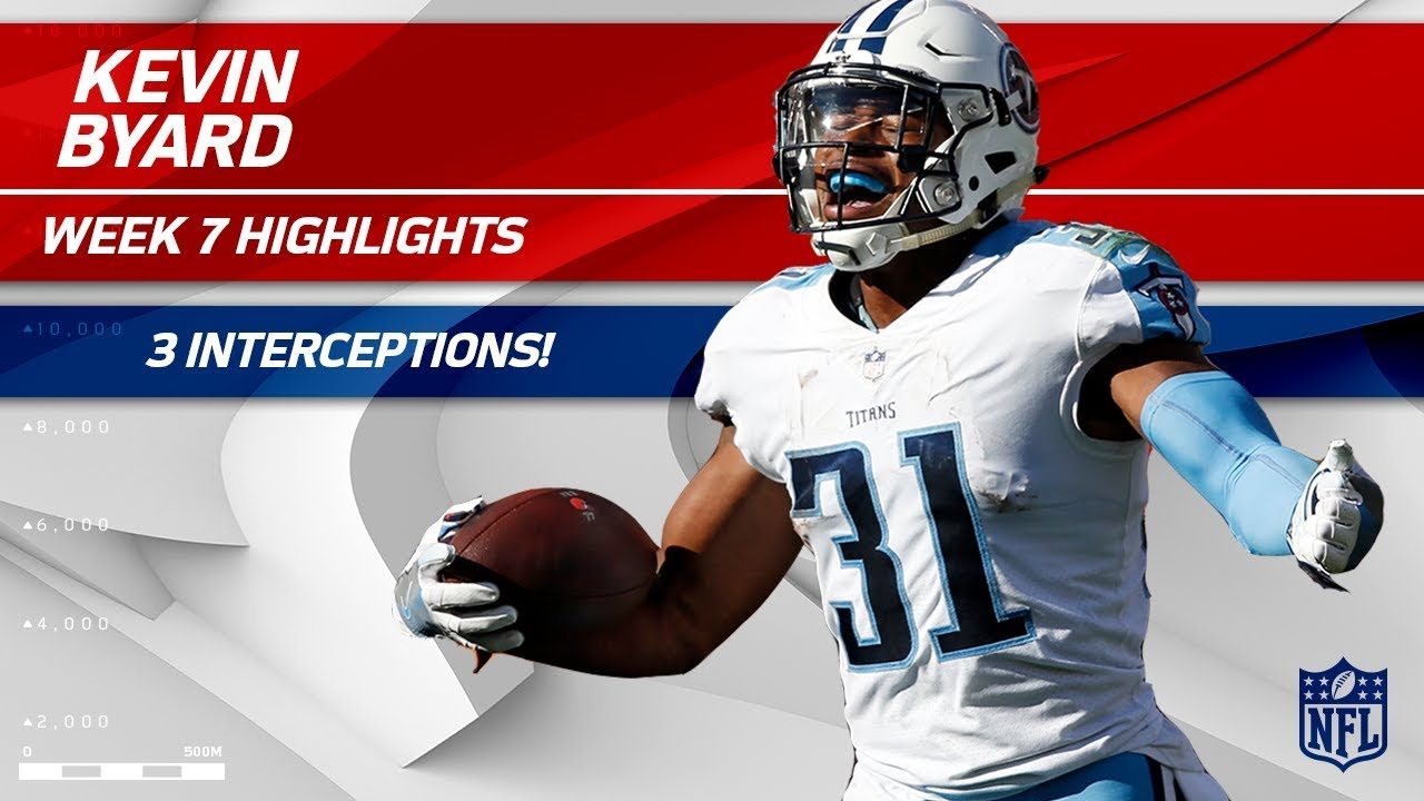 Kevin Byard leads NFL in interceptions, Titans' defense into the playoffs
