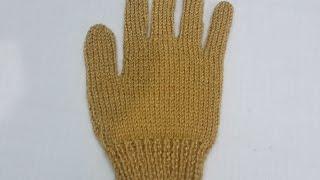 13- Gloves Knitting with Two Needles | HINDI | Full procedure | दस्ताने बुनना सीखे आसान तरीके से