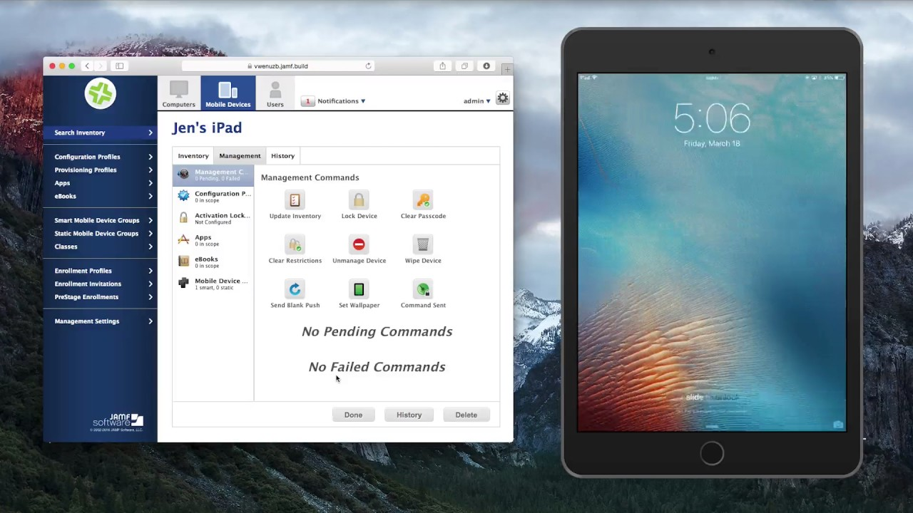 Enabling iOS Lost Mode with Jamf Pro
