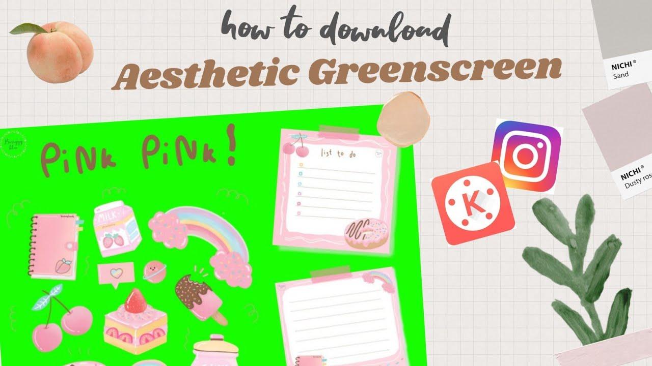 Cara Download Aesthetic Greenscreen Dari Gif Instagram Cara Edit Youtube