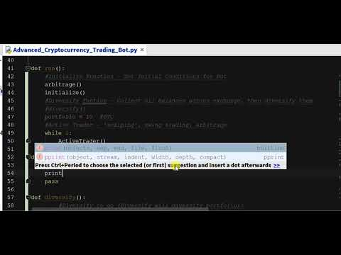 Build a cryptocurrency database python