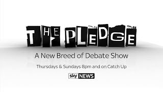 the pledge series five on sky news