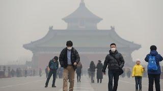 Жители Китая задыхаются от смога(, 2016-12-22T16:00:50.000Z)