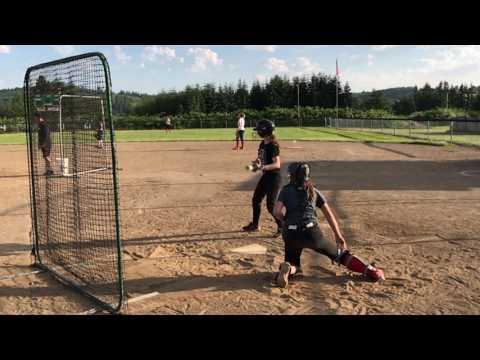 Olivia Sprague 99  Kaos Devastation  Batting Practice  06262017
