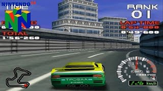Ridge Racer 64 (Nintendo 64 Gameplay)