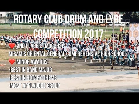 MOGCHS DRUM AND LYRE CORPS (Rotary Club Drum and Lyre Competition) 2017 Cagayan De Oro City