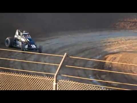 VRA Sprint Car Heat Race 9/10/16