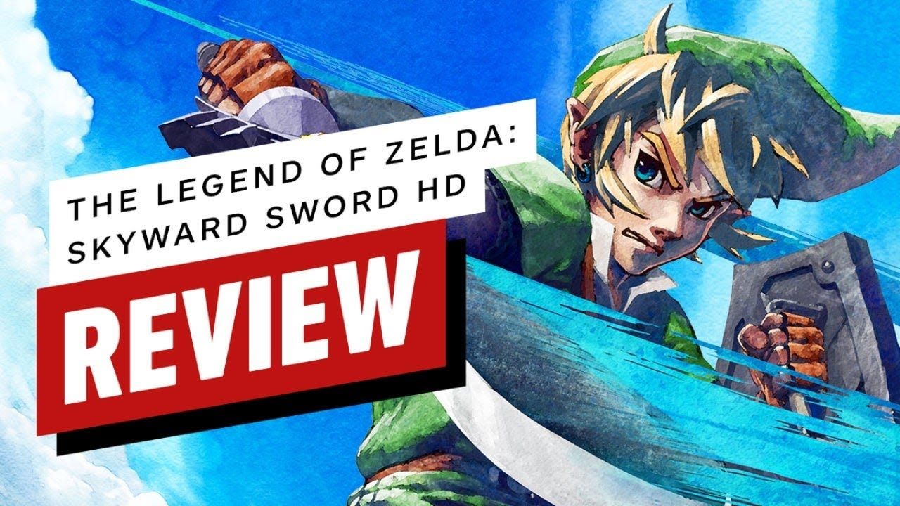 The Legend of Zelda: Skyward Sword HD Review (Video Game Video Review)