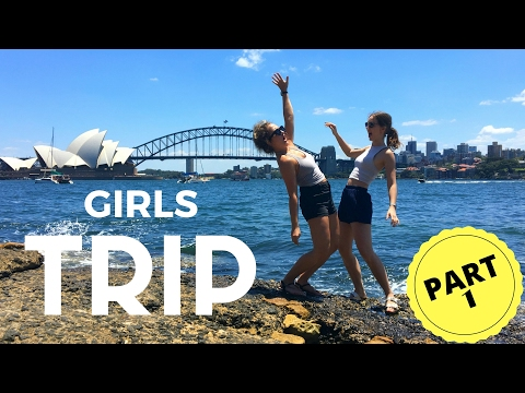 SYDNEY GIRLS TRIP | TRAVEL DIARY (Part 1) | PIAS VLOG 13