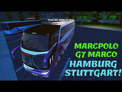 Bus Simulator : Ultimate | Hamburg - Stuttgart Route! | iOS / Android Mobile Gameplay