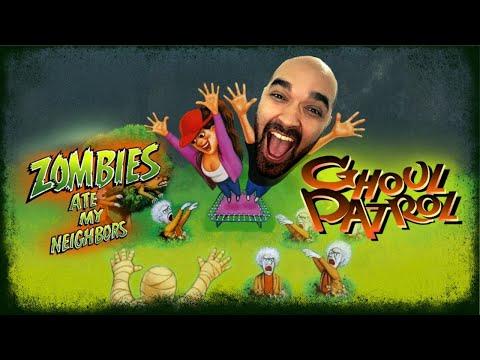 ZOMBIES ATE MY NEIGHBORS AND GHOUL PATROL - Início de jogatina - Nintendo switch - Português PT-BR  
