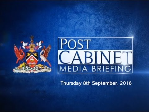 Post Cabinet Press Briefing - Thursday 8th September, 2016
