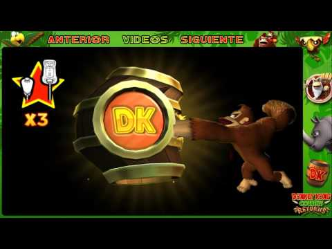 Wii l Guía l Donkey Kong Country Returns l # 33 l ¡ Mundo 7 :  7 - 1 y 7 - 2 !