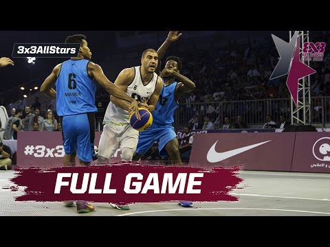 Novi Sad Al Wahda v Manila - Quarter Final Full Game - 2016 FIBA 3x3 All Stars