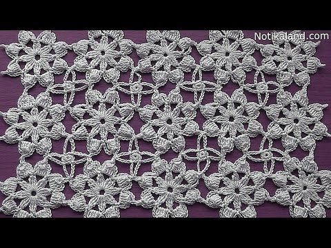 Crochet Pattern How To Join Motifs Crochet Tutorial Part 2 Youtube