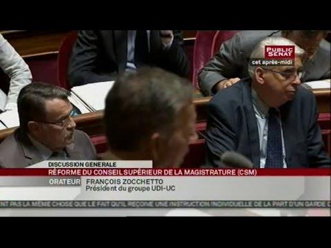 Projet de loi - Réforme du Conseil supérieur de la magistrature - SEANCE (03/07/2013)
