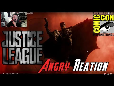 Justice League Comic-Con 17 - Angry Trailer Reaction!