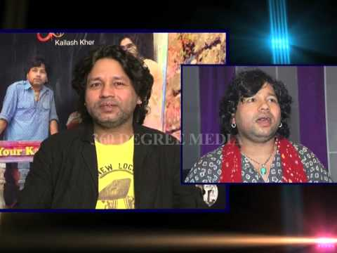 Kailash kher on how singers struggle  & also shares his memorable movements - -Exclusive Interview.