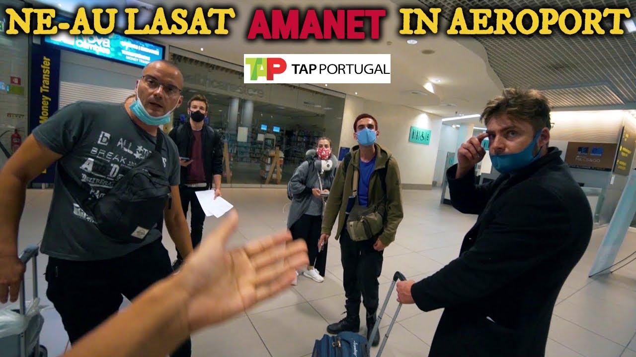 BRAZILIA: SI-AU BATUT JOC DE NOI IN AEROPORT (AGRESAT de angajatii TAP PORTUGAL)