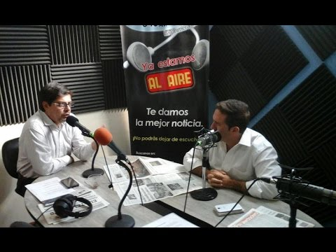 Entrevista en Radio Santiago 03-julio-2015