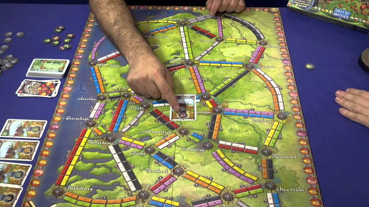 ticket to ride map collection volume 4 nederland spiel 2013