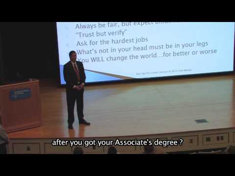 Ten Tips for Career Success Presented by Thomas C. Baloga