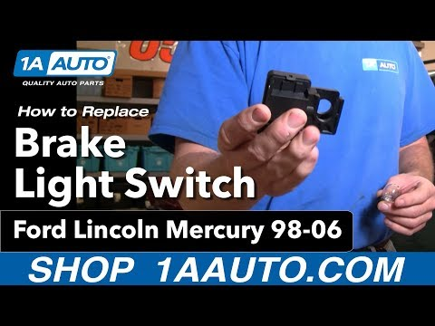 How to Replace Brake Light Switch 98-99 Ford Explorer