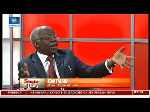 #EndSARS: Comply To Provisions Of Criminal Justice Act, Not Reform Promise-- Falana