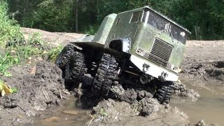 RC TRUCKS OFF Road 4x4 MUD Terrain - Scale model: Tamyia Semi Truck 6x6, Axial SCX10 Honcho, Integy
