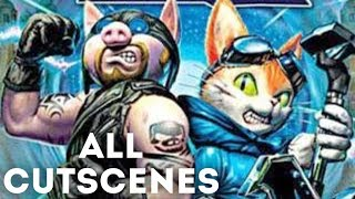 Blinx 2 Masters of Time and Space All Cutscenes (Game Movie)(HD)