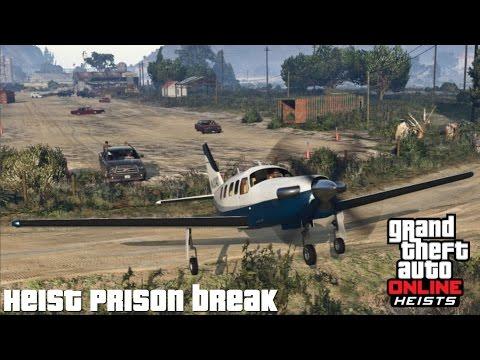 GTA 5 || #2 Heist : Prison Break ||CZ/SK||PS3||Český Gameplay