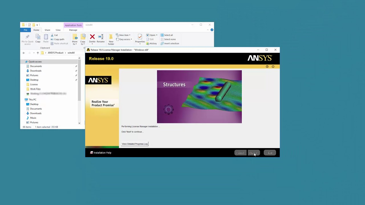 Installing ANSYS 19 License Manager on Windows