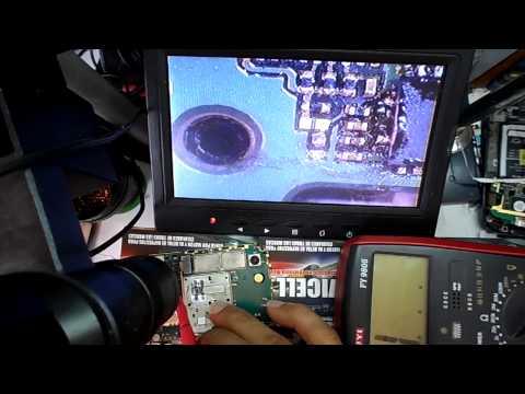 truco reparacion blackberry 8520 no funciona trackpad , jostick , repair trackpad HD