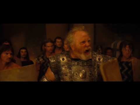 TROY - Inspiring Glaucus Speach before greeks breach palace gates *HD ''2004 film''