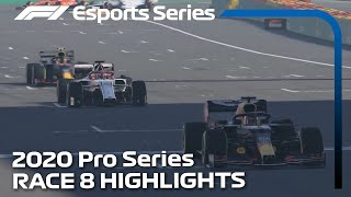2020 F1 Esports Pro Series presented by Aramco: Race 8 Highlights