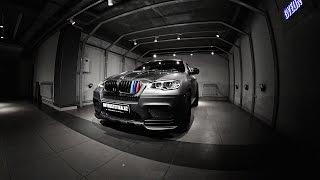 Оклейка BMW X6M винилом Charcoal Matte Metallic от Avery Dennison в AVTOESTETIKA
