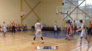 BBBL U15 SUPERFINALS 9-13 PLACES GAME: LIVANI 2002  -  TALSI 2002