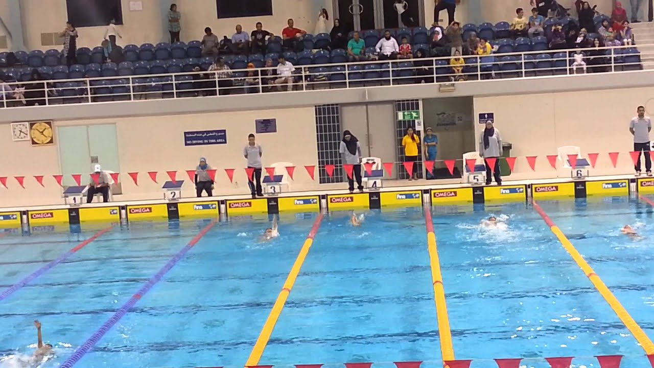 Aspire Qatar Swimming Competition 200 m.Aspi...