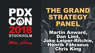 The Grand Strategy Panel - PDXCON 2018