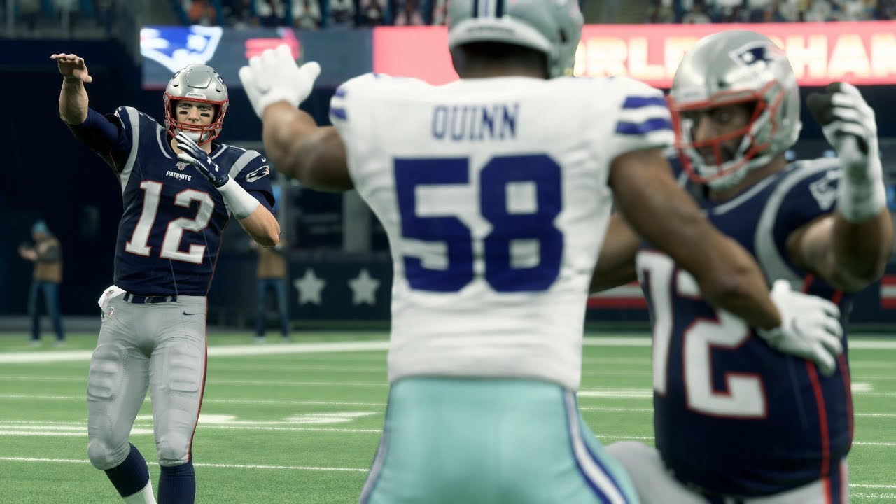Nfl Today 11 24 New England Patriots Vs Dallas Cowboys Full Game Nfl Week 12 Madden
