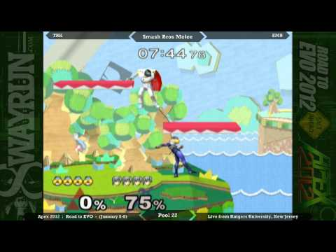 Apex 2012 - SSBM Pool 22 - TRK VS EMB